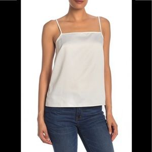 J. Crew Solid Woven Camisole white XS